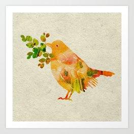 Nesting Time Art Print