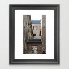 Somewhere in Berlin Framed Art Print