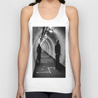 cycling Tank Tops featuring No Cycling by Dawn OConnor