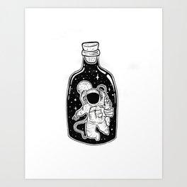 Never Enough Space Art Print