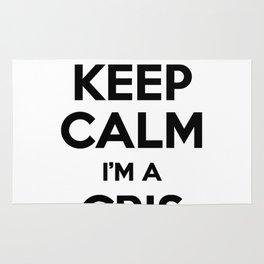 I cant keep calm I am a CRIS Rug
