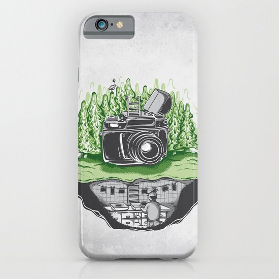 behind the scenes iPhone & iPod Case