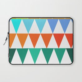 Triangles of Color Laptop Sleeve