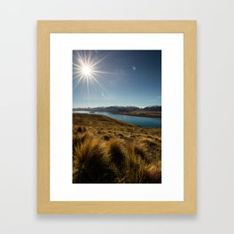 Lake Tekapo Framed Art Print