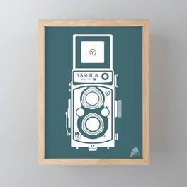 Yashica MAT 124G Camera Framed Mini Art Print