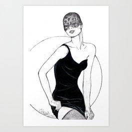 Armani LBD Art Print