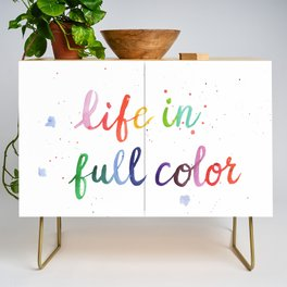 Life in Full Color Credenza