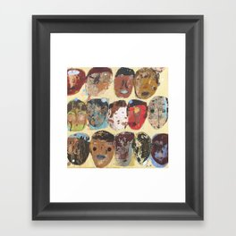 Folks Aware Framed Art Print