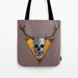 Skull Trophy Tote Bag