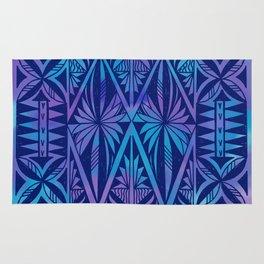 Tapa/Siapo Polynesian bark cloth art (Samoan) Rug