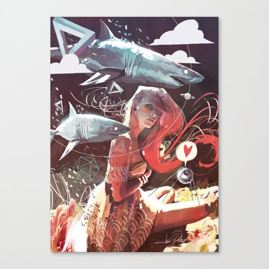 SPUTNIK LOVER Canvas Print