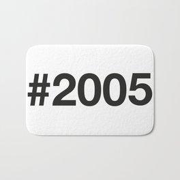 2005 Bath Mat