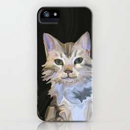 Marble Meows iPhone Case
