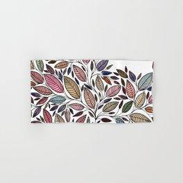 Floral Leaf Illustration *P07008 Hand & Bath Towel