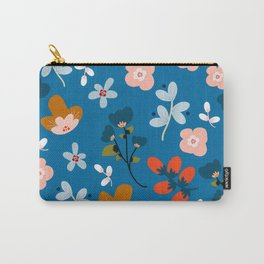 Folk floral Carry-All Pouch