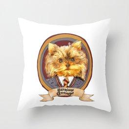 Hairy Pawter's: Hairmione Grrranger Throw Pillow