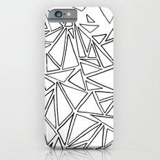 B/W Triangle iPhone 6s Slim Case