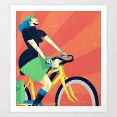 Summer Riding Art Print