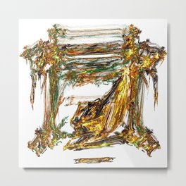 Baroque Angeldust Metal Print