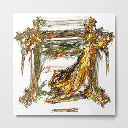 Baroque Angeldust Metal Print