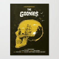 The Goonies art movie inspired Canvas Print