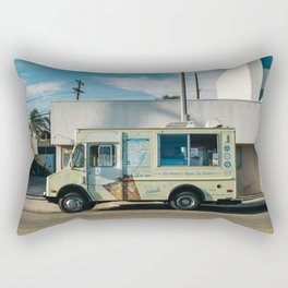 Sunset on Venice Beach Rectangular Pillow