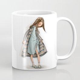 Fashion WhimpsyGirl in tenderly turquoise. Coffee Mug