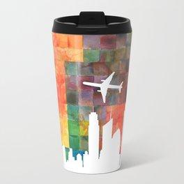 Goodbye Blue Sky Travel Mug