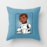 finn Throw Pillows featuring Finn by roberto lanznaster
