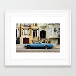 HAIGHT-ASHBURY Framed Art Print