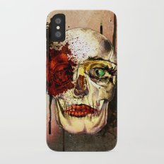 skull3 Slim Case iPhone X