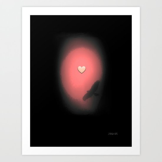 Valentine Heart 3 Art Print