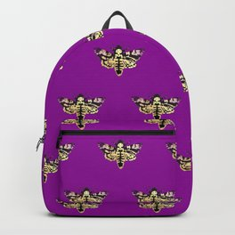 death hawk moth Backpack