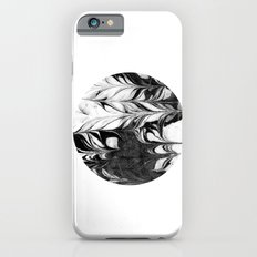 Mitsu - spilled ink abstract watercolor painting marble paper texture pattern swirl ocean waves art Slim Case iPhone 6s