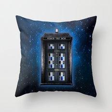new Tardis doctor who sherlock holmes 221b door iPhone 4 4s 5 5c, ipod, ipad, pillow case and tshirt Throw Pillow