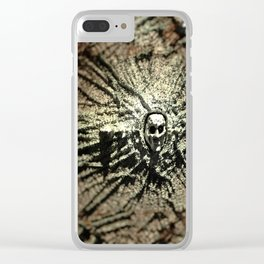 Wall creature concept art illustration Clear iPhone Case