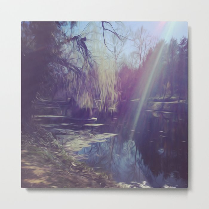 PP Landscape Metal Print