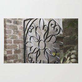 Charleston Back Garden Gate Rug