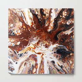 Deconstructed Caramel Sundae Metal Print