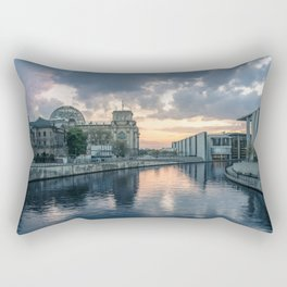 Berlin - West Rectangular Pillow