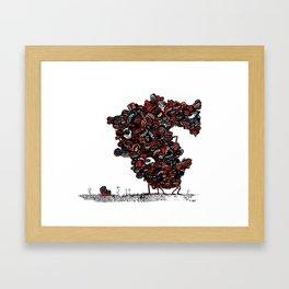The chattering class  -alt Framed Art Print