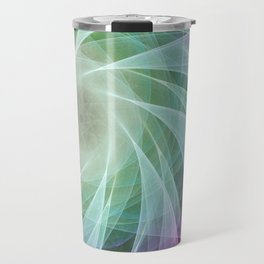 Whirlpool Diamond 2 Computer Art Travel Mug