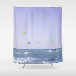 Kite Surf Shower Curtain