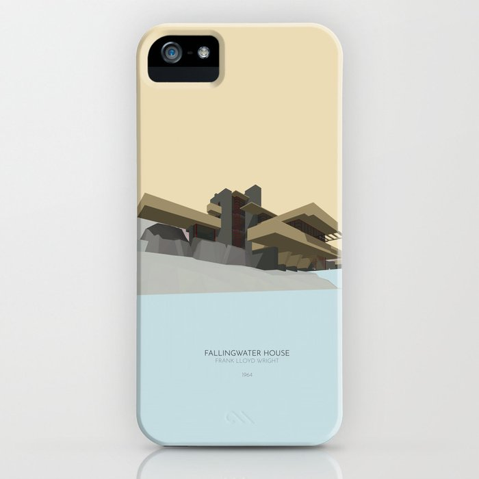 Fallingwater house iPhone Case