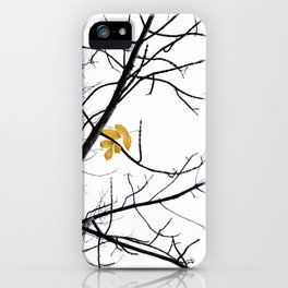 Clinging iPhone Case