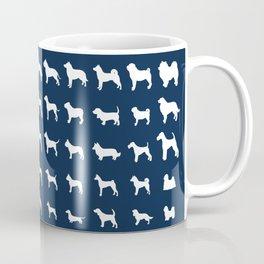 All Dogs (Navy) Coffee Mug