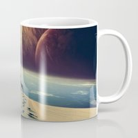 dreams Mugs featuring Explorer by POP.