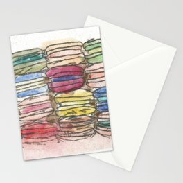 A Feast of Macarons Stationery Cards