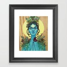 Meditation on Mother Nature Framed Art Print