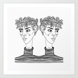 Double Dare Art Print